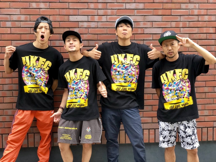 Official Tshirts_TOTALFAT着用画像